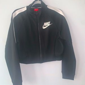 Nike Tracksuit Cropped Zip Up Tracksuit Size Small